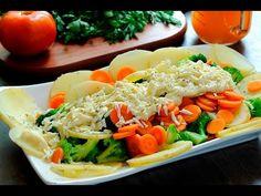 Verduras con salsa blanca al estilo de Sonia Ortiz por Cocina al natural