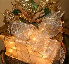 Lighted Glass Block - have wanted one for a long time - look for link to tutorial