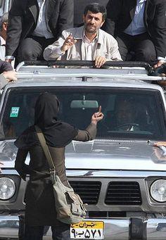 Iranian brave women!!