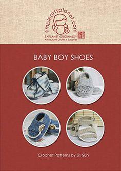 Baby Boy Shoes Crochet Pattern: Patterns