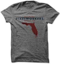 United Pixelworkers Florida t-shirt