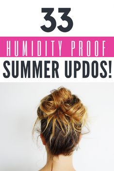 33 Humidity Proof Summer Updos, HAİR STYLE, Are you sweating yet? Summer is here and the humidity can kill your hair! Beat the heat with these super easy summer updos that you can do in minutes. Summer Hairstyles For Medium Hair, Easy Updos For Long Hair, Super Easy Hairstyles, Up Dos For Medium Hair, Medium Hair Styles, Curly Hair Styles, Natural Hair Styles, Beach Hairstyles, Wedding Hairstyles