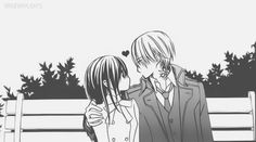 """imaginarylights: Zero x Yuuki   """"It looks like they're finally getting cozy with each other."""""""