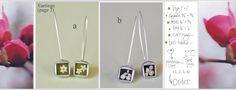 earrings by Skipping Lilies - www.skippinglilies.com