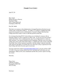 27 administrative assistant cover letter examples