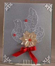Click to Zoom: Silver Holiday Dove