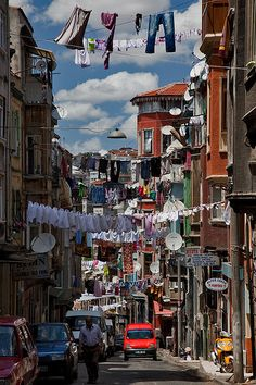 Tarlabasi, Istanbul, Turkey