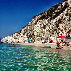 Spiaggia di Capo Bianco all'isola d'Elba