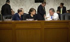 Richard Burr, right, with Dianne Feinstein and Ron Wyden. No looking back: The CIA torture's reports aftermath.  https://www.theguardian.com/us-news/2016/sep/11/cia-torture-report-aftermath-daniel-jones-senate-investigation