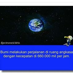 provocative-planet-pics-please.tumblr.com Bumi melakukan perjalanan di ruang angkasa dengan kecepatan 660000 mil per jam #nasa #galaxy #planets #bimasakti #astronomy #unik #bumi #earth #hubble #space #solarsystem #star #sun #planespace #aneh #fakta #ilmuwan #Indonesian by evan_nas2003 https://www.instagram.com/p/BE5nLcsxWBz/