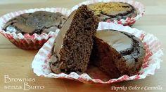 I Brownies senza burro sono dolcetti cioccolattosi golosissimi!!!! Senza burro e senza glutine, risultano sicuramente più leggeri.... si sciolgono in bocca!