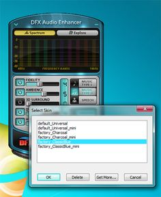This computer program DFX Audio Enhancer computer program comes with an ample number of features including Stereo Ambience, 3D Surround sound, Dynamic Audio Boost etc. for enhancing the audio quality of YouTube, movie and social media audios so that they become more audible and more pleasant to ears.