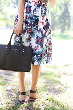 GiGi New York | A Pinch of Lovely Fashion Blog | Black Parker Satchel