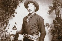 March 10, 1884 After an exercise break, prisoners Frank Taggart, Mitch Lee and Kit Joy overpower two guards at the jail in Silver City, New Mexico, and procure four six-shooters, a Winchester, a double-barreled shotgun, a Bowie knife, gunbelts and about 150 rounds of ammunition. Old West Outlaws, Charles Spencer, Billy The Kids, Silver City, Shotgun, Bowie, New Mexico, Winchester