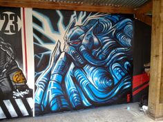 #graffiti #piece #burner http://urbanartbomb.com - graffiti wall - SNUB 23 - #bristol #uk