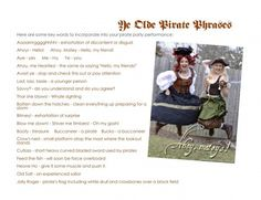 Pirate Phrases Pirate Phrases, Blog Page, Pirate Party, Princess Party, My Friend, Pirates, Thats Not My, Sayings, Words