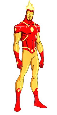 DC:New Earth Firestorm Animated by kyomusha on DeviantArt Young Justice Characters, Dc Comics Characters, Dc Comics Art, Marvel Dc Comics, Chun Li, Daredevil Suit, Firestorm Dc, Alternative Comics, Superhero Design