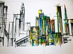 Architecture Drawings Buildings