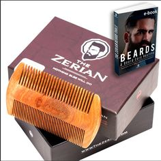 The Zerian beard comb- Nothing else will do