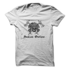 Indian Outlaw! - #tshirt bemalen #hooded sweatshirt. CHECK PRICE => https://www.sunfrog.com/No-Category/Indian-Outlaw.html?68278