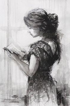 Reading Painting - Light Reading by Steve Henderson Canvas Artwork, Canvas Prints, Art Prints, Black And White Wall Art, Light Painting, Portrait Art, Fine Art Photography, Metal Art, Fine Art America