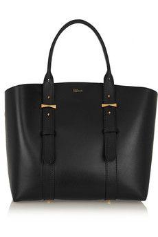 Alexander McQueen Legend medium leather tote | NET-A-PORTER
