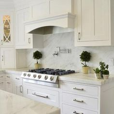 Imperial Danby Marble, kitchen, Dearborn Cabinetry