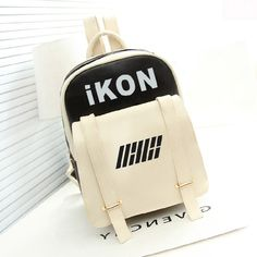 >> Click to Buy << New Kpop Hiphop Ikon BOBBY B.I PU Bags Backpack Schoolbag #Affiliate