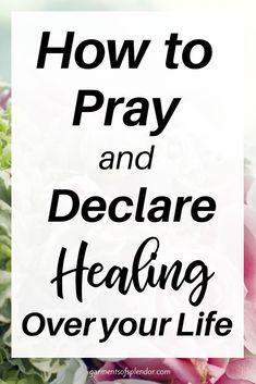 Healing Bible Verses, Powerful Scriptures, Prayers For Healing, Prayer Scriptures, Bible Prayers, Faith Prayer, God Prayer, Power Of Prayer, Prayer Quotes