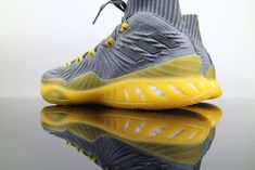 timeless design 74717 bd4c0 Adidas Crazy Explosive Boost Primeknit Grey Yellow CQ1396 Basketball Men  Footwear for Sale – Adidas NMD and Yeezy Boost for Sale in US   UK   Canada