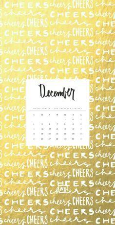 December16 Wallpaper 2016, Calendar Wallpaper, Computer Wallpaper, Desktop Backgrounds, Iphone Wallpapers, 2016 Calendar, Creativity, Typography, Tech
