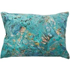 Wayward Ocean Suede Pillow (48 KWD) ❤ liked on Polyvore featuring home, home decor, throw pillows, pillows, handmade home decor, sea home decor, suede throw pillows, ocean home decor and ocean throw pillows