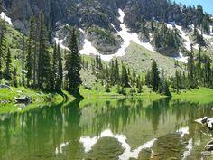 High Creek Lake to Cherry Peak, Cache Valley, Utah