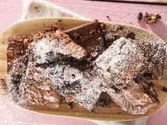 Ultimate Fudgy Brownies have 4 different types of chocolate to satisfy all your chocolate needs. Fudgy, rich, decadent, and perfect with a glass of milk.