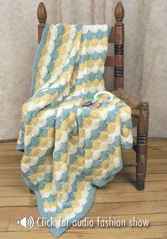 NaturallyCaron.com :: Treetops Baby Blanket