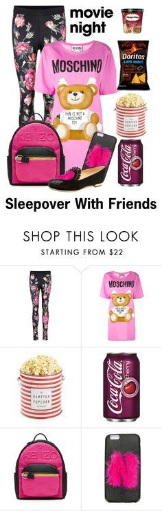 """""""My Favorite Movie"""" by shamrockclover ❤ liked on Polyvore featuring Dolce&Gabbana, Moschino, Kenzo, Fendi and Charlotte Olympia"""