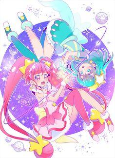 Star Twinkle Precure #Precure Pretty Cure, Kawaii Art, Kawaii Anime, Chibi Characters, Glitter Force, Doodle Designs, Anime Art Girl, Magical Girl, Little Pony