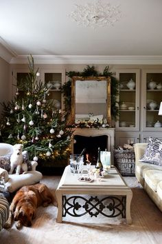 Your colour scheme for holiday decorating will affect your home for at least a month out of the year, here is a christmas in silver, pink and white
