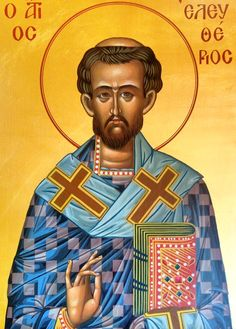#saint, #sainteleftherios, #saintarseniorthecappadocian, #bysantine, #iconography, #greekiconography, #evapolart, #handmade, #handpainted, #handcrafted