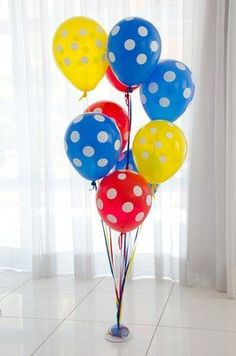 Bexigas ideias para aniversarios infantis