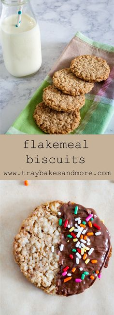 Flakemeal Biscuits - traybakes & more
