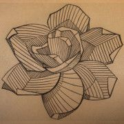 Geometric gardenia