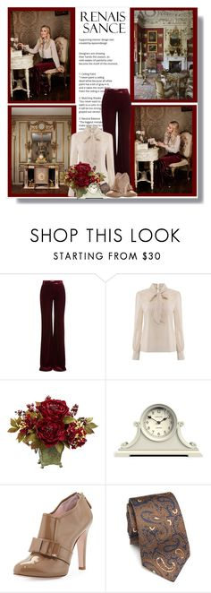 """Sophisticated Ensemble"" by malinda108 ❤ liked on Polyvore featuring Emilio Pucci, Nearly Natural, Newgate, RED Valentino, Kiton, laurenconrad and Fall2016"