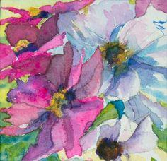 $40 - WATERCOLOR COURSE - MARY MURPHY - craftsy.com - stunning paintings