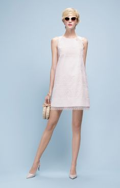 Spring/Summer Collection by Paule Ka for Graceful Ladies - Pretty Designs Summer Work Dresses, Simple White Dress, Fancy Gowns, Winter Outfits Women, Little Dresses, Fashion Tips For Women, Trendy Dresses, Fashion Outfits, Fashion Trends