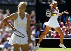 """""""'I don't think being an athlete affects my personal style, but being interested in fashion can make me a better tennis player. When I feel good on the court, it improves my game."""" She has teamed up with Nike to create her own collection which will be unveiled at the grand slams. Whilst she is off court, Maria is a fan of trousers by Rick Owens, who says fashion and sport can't go hand in hand?"""