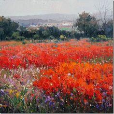 paisajes Pinturas al óleo de Miguel Peidro 9
