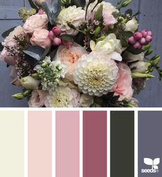 Design seeds - for all who love color Scheme Color, Color Palate, Colour Schemes, Color Combos, Colour Palettes, Paint Schemes, Design Seeds, Paint Combinations, Exterior Paint Colors