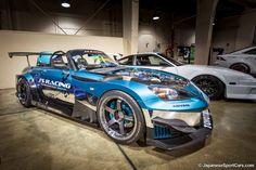 Honda S2000 with J's Racing GT Widebody Kit and ADVAN Racing GT wheels