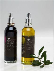 Pack Spray de aceite de oliva y vinagre de módena.